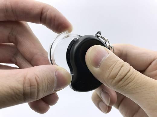 Kulcstartós nagyító, 6 x 30 mm, Toolcraft