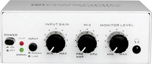 Lemezjátszó, Phono előerősítő, RIAA korrektor, USB kimenettel NOWSONIC Phonix