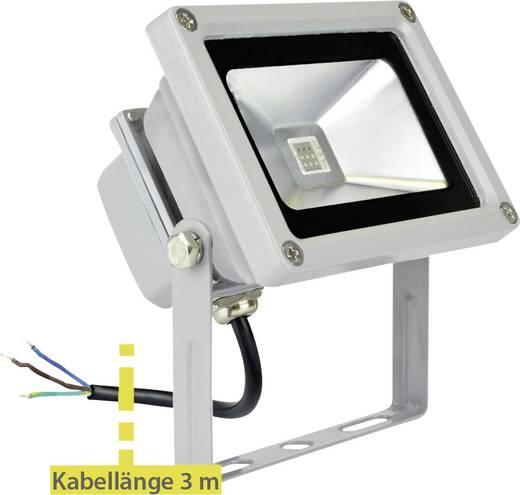 LED-es kültéri fényszóró 10 W Rgb X4-LIFE 701455, szürke