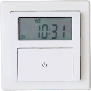 Beépíthető fali digitális időkapcsoló óra, IP20, 1800W, GAO EFP700ET (EFP700ET) GAO