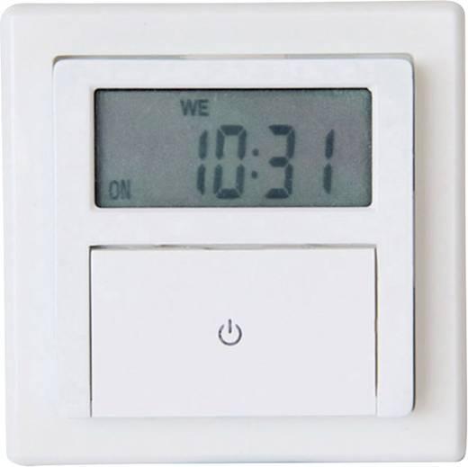 Beépíthető fali digitális időkapcsoló óra, IP20, 1800W, GAO EFP700ET