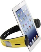 Bluetoothos hangszóró, beépített táblagép tartó konzollal, sárga, Spiffy iStage (iStage) spiffy