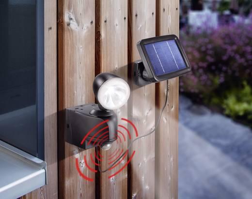 Napelemes spot mozgásérzékelővel, hidegfehér/fekete, Esotec 102412 Power Light