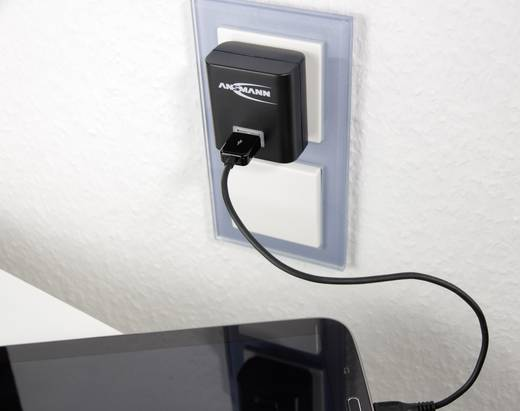 Hálózati USB-s töltő, max. 2100 mA, Ansmann 1001-0025