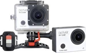 Full HD akciókamera, WiFi, vízálló ház, többféle tartó, 12 Mpx, Denver AC-5030W Denver