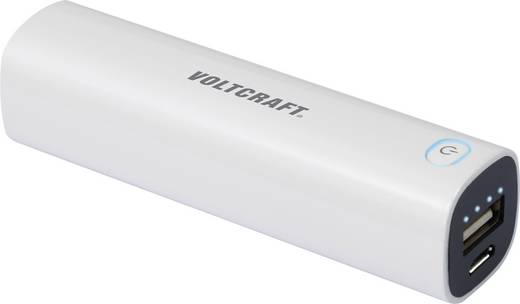 Powerbank, mobil akku, lítiumion 2600 mAh, VOLTCRAFT PB-14