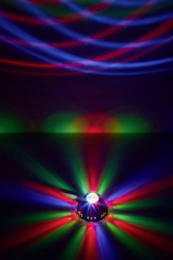 LED-es fényeffekt, RGB forgó diszkófény 24 LED V86667