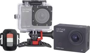 Full HD akciókamera WiFi-vel, vízálló házzal, többféle tartóval, 16 Megapixel-es Denver ACT-8030W Denver
