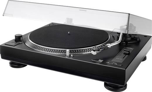 Dual DTJ 301.2 lemezjátszó, USB digitalizáló lemezjátszó, direkt meghajtású fekete színű 72212