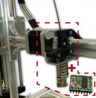 Fúvóka átépítő készlet, K8203 Velleman K8200 3D nyomtatóhoz Whadda