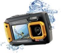 Easypix W-1400 Digitális kamera 14 Megapixel Fekete, Narancs Porvédett, Víz alatti kamera, Elülső kijelző Easypix
