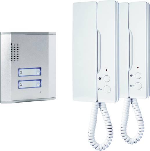 Vezetékes kaputelefon rendszer, 2 családi házhoz, Smartwares 1316863