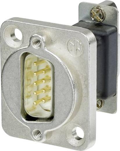 D-SUB adapter, D-SUB dugó 9 pólusú - D-SUB alj 9 pólusú, Neutrik NADB9MF