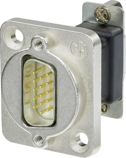 D-SUB adapter, D-SUB dugó 15 pólusú - D-SUB alj 15 pólusú, Neutrik NADB15MF