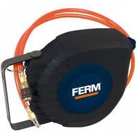Sűrített levegős tömlő feltekercselő 9 m 12 bar Ferm ATA1033 Falra rögzíthető Ferm