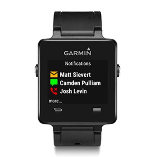 GPS-es pulzusmérő óra mellkasövvel Garmin vivoactive™ Bluet