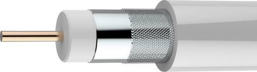 Koax kábel 75 Ω 90 dB, fehér, méteráru, Axing SKB 89-03