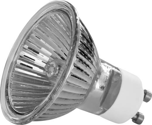 Nagyfeszültségű halogén izzó 51 mm Müller Licht 230 V GU10 50 W, melegfehér, EEK: D, dimmelhető