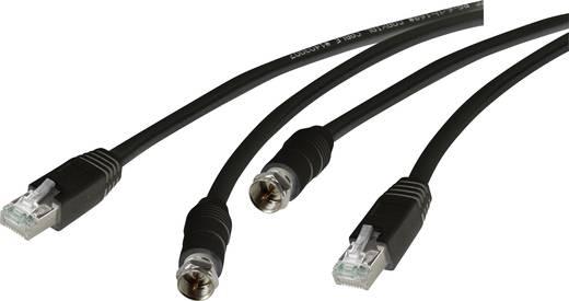SAT hosszabbítás CAT5 hálózati kábel útján, 30 m, Speaka Professional