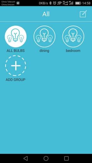 LED-es fényforrás Sygonix LED E27 7W=40W RGBW izzólámpa forma, Bluetooth-al vezérelhető