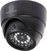 Álkamera infra szimulációval, villogó LED-del és mozgásérzékelővel Renkforce 1325938 (1325938) Renkforce