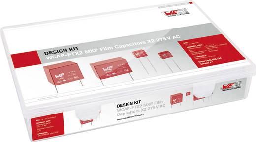 Fóliakondenzátor készlet Radiális kivezetéssel 275 V 10 % Würth Elektronik 890324 61 db