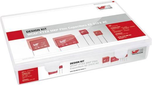 Fóliakondenzátor készlet Radiális kivezetéssel 310 V 10 % Würth Elektronik 890334 61 db