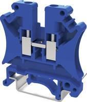 Degson PC4-01P-12-00AH-1 Átmenő kapocs 6.2 mm Csavaros csatlakozó Kék 1 db Degson