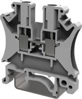 Degson PC2.5-01P-11-00AH-1 Átmenő kapocs 5.2 mm Csavaros csatlakozó Szürke 1 db Degson