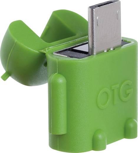 USB-s kártyaolvasó, okostelefonhoz, tablethez PNY Robot OTG-A2G-EF
