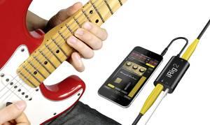 Gitár interface okostelefon csatlakoztatáshoz, Android és Apple iOS készülékekhez IK Multimedia iRig 2 (iRig 2) IK Multimedia