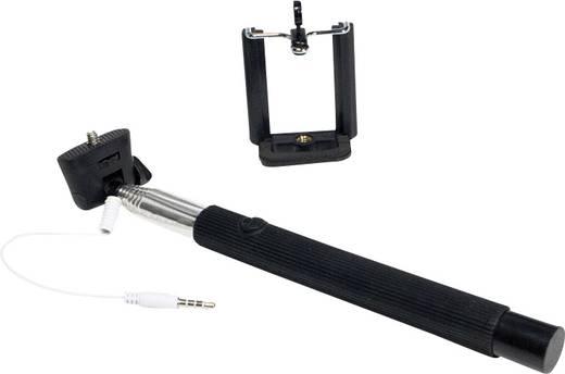 Selfie bot, monopod, teleszkópos fényképező rúd okostelefonokhoz 8.5 cm LogiLink BT0032