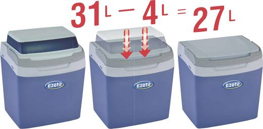 Passzív hűtőláda, bővíthető, kihúzható tetővel 33,7L-es EZetil Foldable Coolbox 31