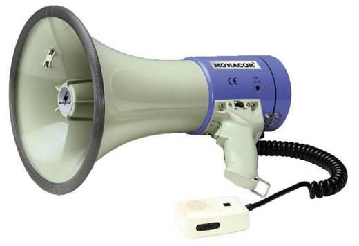Megafon, beépített hangokkal, kézi mikrofonnal, Monacor TM-27