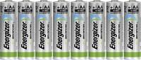 Ceruzaelem AA, alkáli mangán, 1,5V, 8 db, Energizer Eco Advanced LR06, AA, LR6, AAB4E, AM3, 815, E91, LR6N (E300116500) Energizer