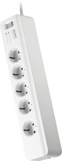 Túlfeszültségvédős hálózati elosztó 5 részes, fehér, APC by Schneider Electric PM5-GR