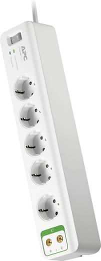 Túlfeszültségvédős hálózati elosztó 5 részes, fehér, APC by Schneider Electric PM5V-GR