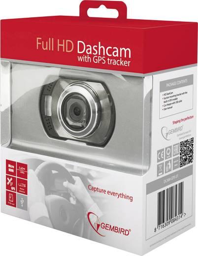 Autós kamera GPS-szel, 120°12V, Gembird DCAM-GPS-01