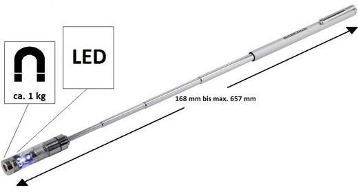 LED-es, teleszkóposan kihúzható mágneses emelő, Basetech