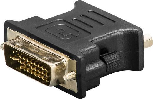 DVI / VGA Átalakító [1x DVI dugó, 24+5 pólusú - 1x VGA alj] Fekete aranyozott érintkező Goobay