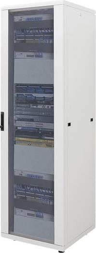 """19""""-os rackszekrény, hálózati szerverszekrény 600 x 1120 x 600 mm, szürke 22 HE Intellnet (RAL 7035) 712934"""
