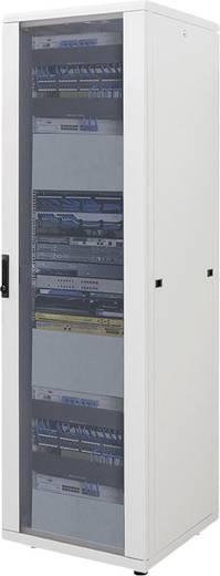 """19""""-os rackszekrény, hálózati szerverszekrény 600 x 1653 x 600 mm, szürke 32 HE Intellnet (RAL 7035) 712972"""