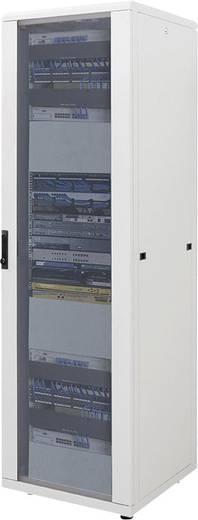 """19""""-os rackszekrény, hálózati szerverszekrény 600 x 1653 x 800 mm, szürke 32 HE Intellnet (RAL 7035) 712989"""