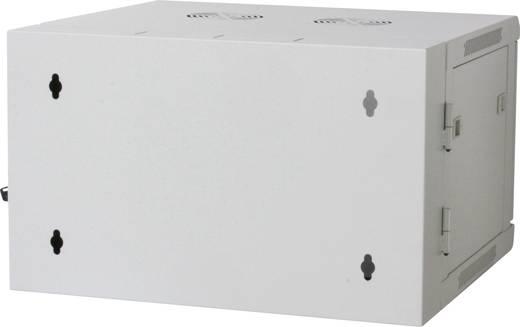 """19""""-os fali rackszekrény, hálózati szerverszekrény, zárható ajtóval 570 x 770 x 600 mm, szürke 15 HE Intellnet 7119"""