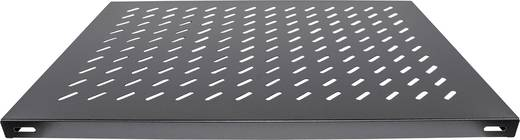 """19""""-os rackszekrénybe építhető polc, előlapi szereléshez, 700 mm mély, fekete, Intellinet 712545"""