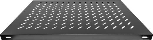 """19""""-os rackszekrénybe rakható polc, fixen rögzíthető, fekete, (RAL 9005) Intellinet 712583"""