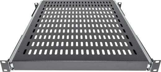 """19""""-os rackszekrénybe építhető kihúzható polc, 600 mm mély, fekete, Intellinet 712613"""