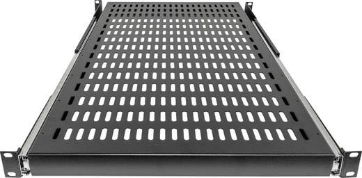 """19""""-os rackszekrénybe építhető kihúzható polc, 800 mm mély, fekete, Intellinet 712620"""