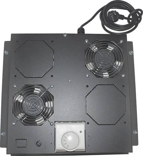 """19""""-os rackszekrénybe építhető 2 ventilátoros hűtés (RAL 9005) Intellinet 712859"""