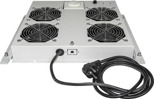 """19""""-os rackszekrénybe építhető 4 ventilátoros hűtés (RAL 7035) Intellinet 712798"""